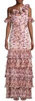 Alexis Amonda Tiered Ruffle Maxi Dress