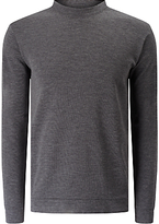 Libertine-libertine Dash Temple Long Sleeve Jumper, Grey Melange