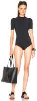 Acne Studios Hadara Swimsuit in Black.