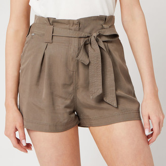Superdry Women's Desert Paper Bag Shorts