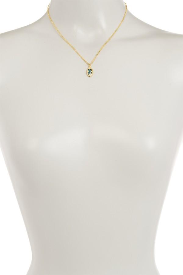 Melinda Maria Tessa Marquis Pendant Necklace
