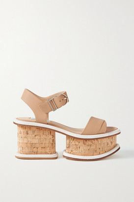 Gabriela Hearst Harrigan Leather Platform Sandals - IT39