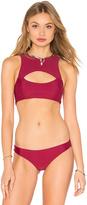 Mikoh Marrakesh Cutout Bikini Top