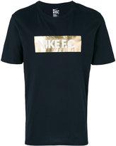 Nike F.C. foil logo T-shirt - men - Cotton - S