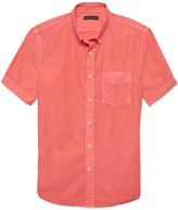 Banana Republic Slim-Fit Cotton Twill Shirt