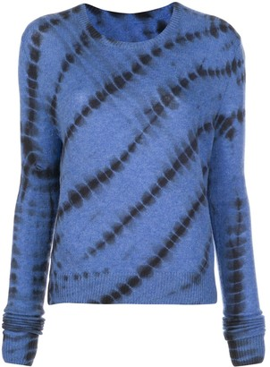 The Elder Statesman Abstract Print Jumper