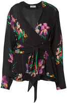 Etro v-neck wrap blouse - women - Silk - 44
