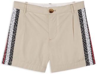 Burberry Kids Cotton TB Monogram Stripe Shorts (3-12 Years)