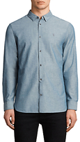 Allsaints Allsaints Tulare Textured Slim Fit Shirt