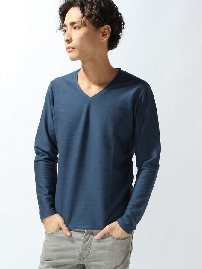 Men's Bigi (メンズ ビギ) - MEN'S BIGI Vネック長袖Tシャツ メンズ ビギ カットソー