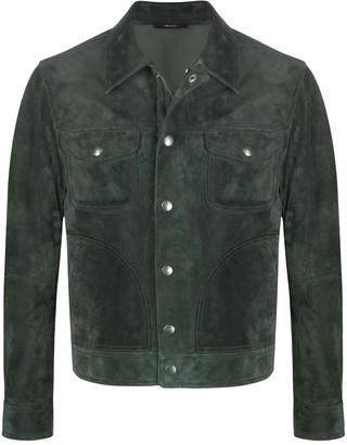Tom Ford Zipped Shirt Jacket