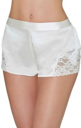 Aubade Women's BOXER Pyjama Bottom Ecru (Nacre) UK 10 (Manufacturer Size: 42)