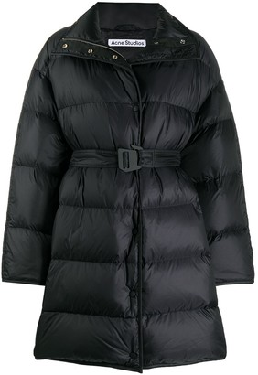 Acne Studios Belted Padded Coat