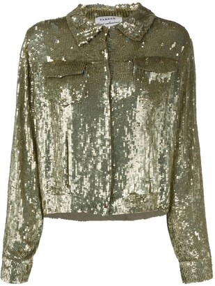 P.A.R.O.S.H. Gummy sequinned jacket