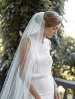 Etsy Fingertip Veil | Ivory Wedding Veil | Single Tier Veil | Simple Veil | Soft Tulle Veil | Single Laye