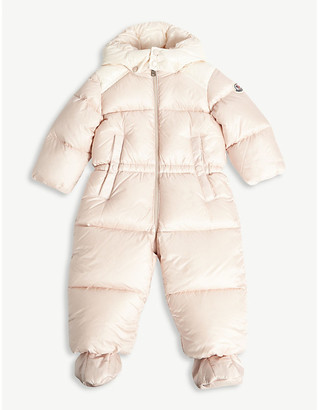 Moncler Pervance padded snowsuit 3-36 months