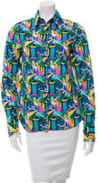 Creatures of the Wind Multicolored Button Up Blouse