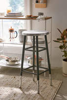 Urban Outfitters Kenzie Silver Bar Stool