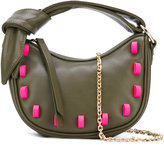 Borbonese embellished bag - women - Cotton/Leather/rubber - One Size