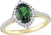 Bellini 14K Gold 1.70 cttw Gemstone & Diamond Ring