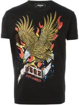 DSQUARED2 eagle print T-shirt