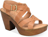 Børn Greccia Wedge Sandals Women's Shoes