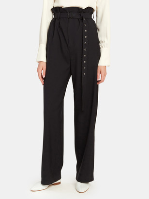 Low Classic High Rise Belted Pants