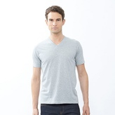 Uniqlo Men Packaged Dry V Neck Short Sleeve T-shirt