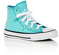Converse Girls' Chuck Taylor All Star Glitter High-Top Sneakers - Toddler, Little Kid