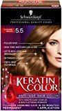 Schwarzkopf Keratin Hair Color, Cashmere Brown 5.5, 2.03 Ounce