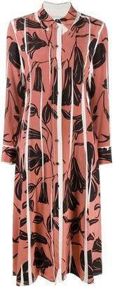 Paul Smith Floral Cut-Out Print Dress