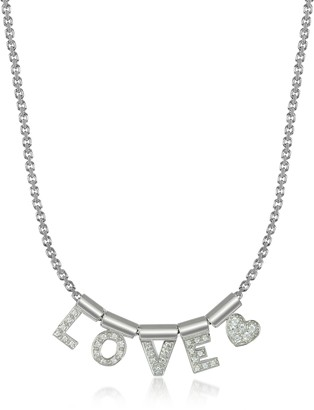 Nomination Sterling Silver and Swarovski Zirconia Love&Heart Necklace