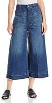 Free People Dawn to Dusk Wide-Leg Crop Jeans