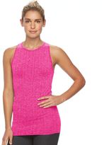 Tek Gear Women's Seamless Ribbed Workout Tank Top