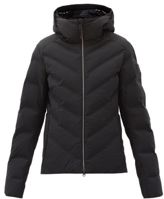 Bogner Fire & Ice Carla Chevron-quilted Down Jacket - Black