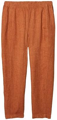 Eileen Fisher Petite Lantern Pants (Cinnamon) Women's Casual Pants
