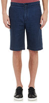 Vince MEN'S CHAMBRAY SHORTS-BLUE SIZE 30