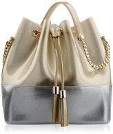 Kartell Grace K Handbag - Glitter Gold/Chrome