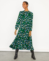 Jigsaw Graphic Poppy Maxi Dress