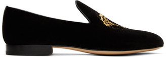 Versace Black Medusa Loafers