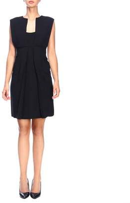 Emporio Armani Dress Sleeveless Dress In Crêpe