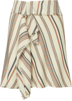 Exclusive for Intermix Kat Tribal Wrap Skirt Stripe P
