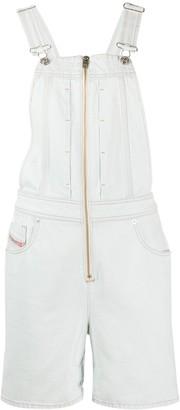 Diesel De-Dixy Dungaree shorts