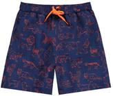 Stella McCartney Sale - Exclusive x Smallable - Feline Swim Shorts Kids