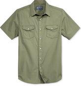 American Rag Men's Solid Short-Sleeve Shirt