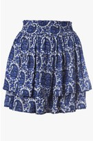 Derek Lam Flounce Mini Skirt