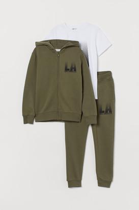 H&M 3-piece Tracksuit Set
