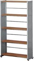 Mayline Group MLN995MEC Bookcase 5-Shelf- 31-.25in.x11in.x31in.- Medium Cherry