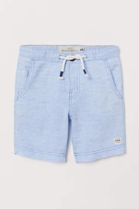 H&M Woven Shorts - Blue
