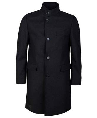HUGO Mintrax Overcoat Colour: CHARCOAL, Size: LARGE